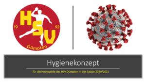 HYGIENEKONZEPT FÜR DIE HEIMSPIELE DES HSV IN DER SAISON 2020/2021